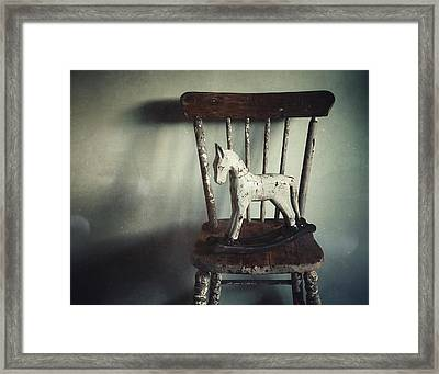 Framed Print featuring the photograph Rock-a-bye by Amy Weiss