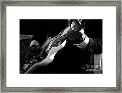 Rock And Roll 3 Framed Print by Bob Christopher
