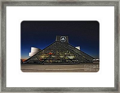 Rock And Roll Hall Of Fame - Cleveland Ohio - 5 Framed Print