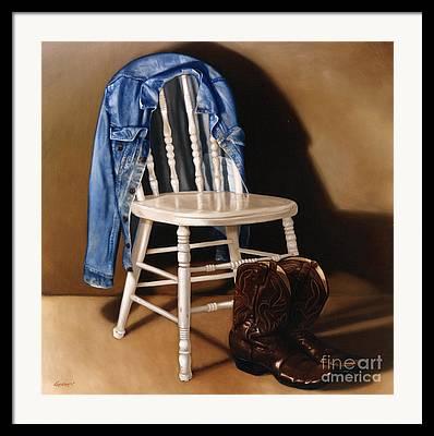 Kitchen Chair Framed Prints