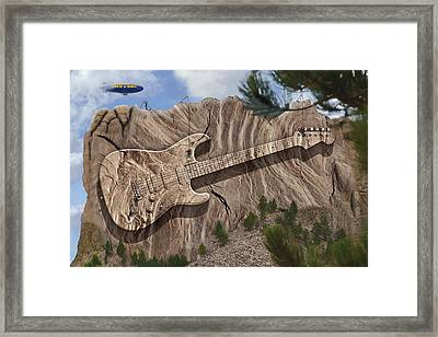Rock And Roll Park 2 Framed Print