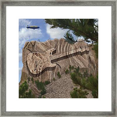 Rock And Roll Park Framed Print by Mike McGlothlen