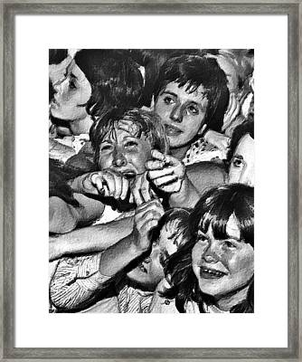 Rock And Roll Rapture 1 Painting Framed Print