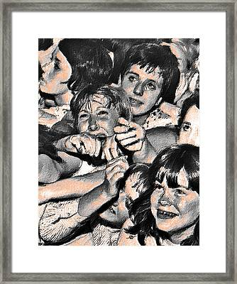 Rock And Roll Rapture 2 Painting Framed Print