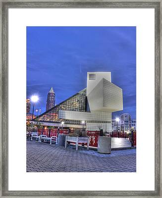 Rock And Rolling Framed Print by David Bearden