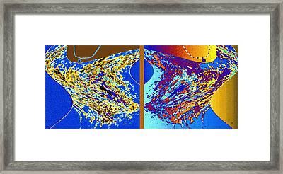 Rock And Soul Duo Framed Print by Will Borden