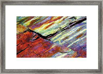 Rock Art 16 Framed Print