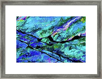 Rock Art 18 Framed Print