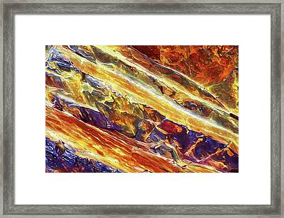 Rock Art 26 Framed Print by ABeautifulSky Photography