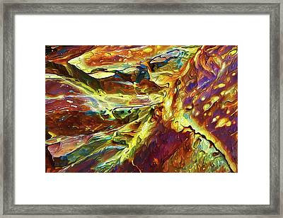 Rock Art 27 Framed Print by ABeautifulSky Photography