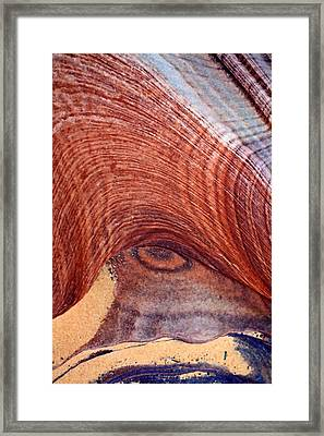 Framed Print featuring the photograph Rock Art by Farol Tomson