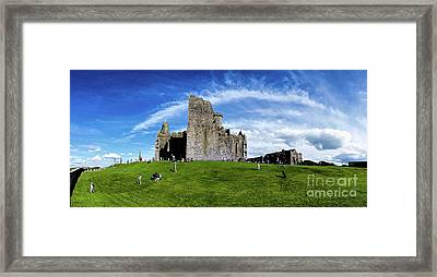 Rock Cashel Framed Print