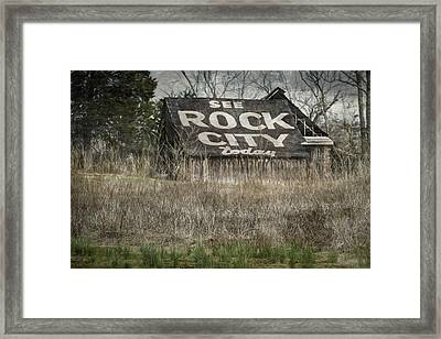 Rock City Framed Print