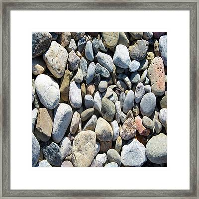 Rock Collection Framed Print