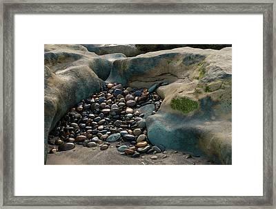 Rock Cradle Framed Print by Randy Bayne