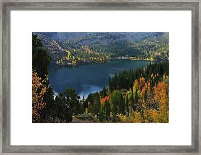 Rock Creek Lake Eastern Sierra Framed Print