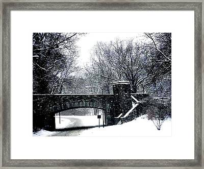 Rock Creek Parkway Washington Dc Framed Print by Fareeha Khawaja