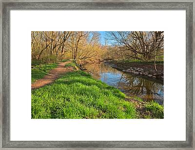 Rock Creek Spring Framed Print