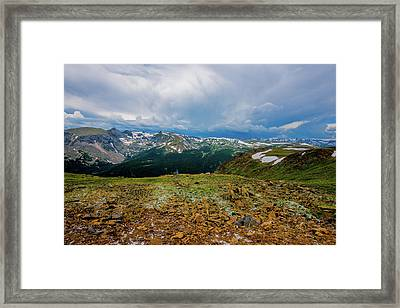 Rock Cut 2 - Trail Ridge Road Framed Print