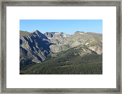 Rock Cut - Rocky Mountain National Park Framed Print by Pamela Critchlow