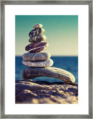 Rock Energy Framed Print by Stelios Kleanthous