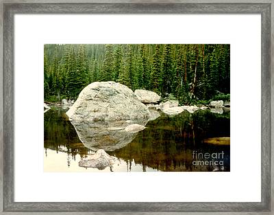 Rock Family Framed Print