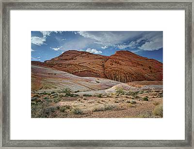 Rock Formations - Valley Of Fire - Nevada Framed Print