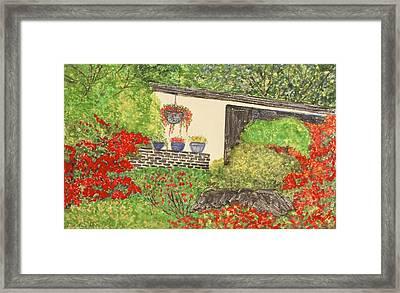 Rock Garden Framed Print