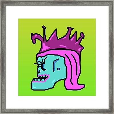 Rock Goddess Framed Print
