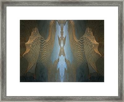Framed Print featuring the photograph Rock Gods Seabird Of Old Orchard by Nancy Griswold