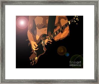 Rock Hero Framed Print by David Lee Thompson