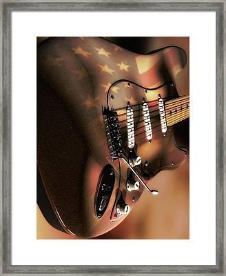 Rock In America Framed Print