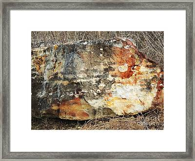 Rock-in Beverly Hills Framed Print by Todd Sherlock