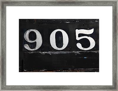 Rock Island 905 Framed Print
