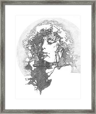 Rock Legend Framed Print by Karen Clark