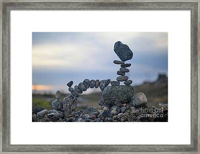 Rock Monster Framed Print