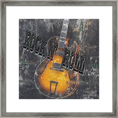 Rock N Roll 2 Framed Print