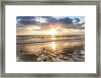 Rock 'n Sunset Framed Print