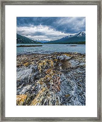 Rock Of Ages Framed Print by Laurent Fox