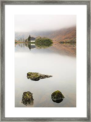 Rock Of Barra Framed Print by Graham Daly