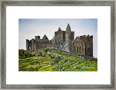 Rock Of Cashel Ireland Framed Print by Avril Brand