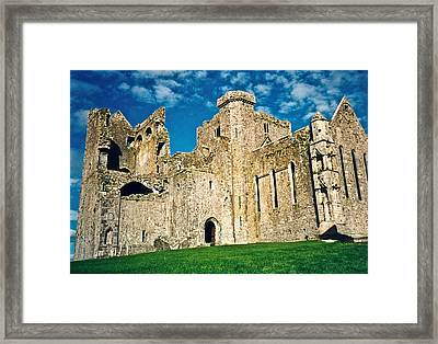 Rock Of Cashel Ireland Framed Print