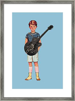Rock On Framed Print by Colleen VT