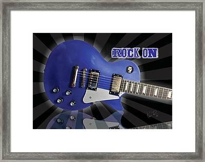Rock On Framed Print by Ken Reynolds