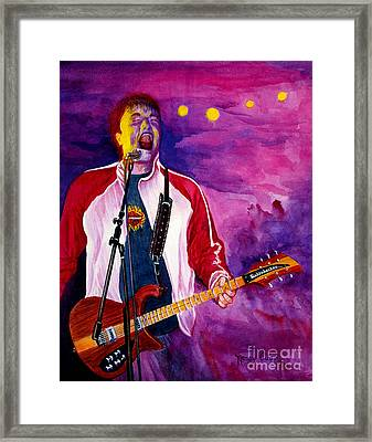 Rock On Tom Framed Print
