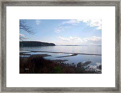 Framed Print featuring the photograph Rock Point North View Horizontal by Felipe Adan Lerma