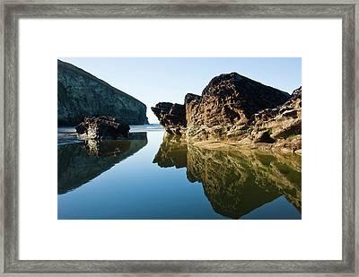 Rock Pool Framed Print by David Wilkins