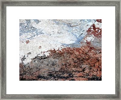 Rock Scenes Framed Print