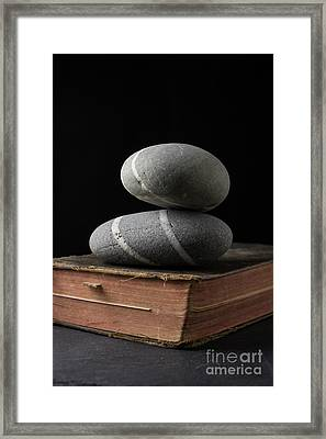 Rock Solid Faith Framed Print by Edward Fielding