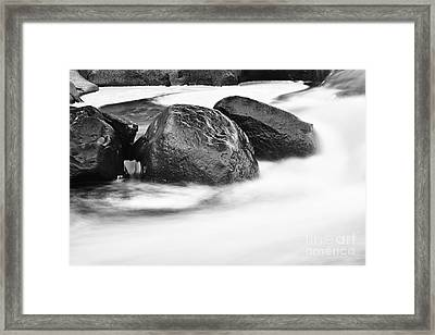 Framed Print featuring the photograph Rock Solid by Larry Ricker